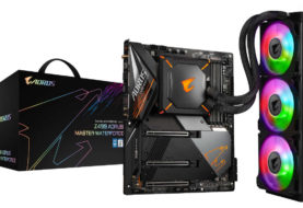 GIGABYTE presenta  Z490  AORUS MASTER WATERFORCE