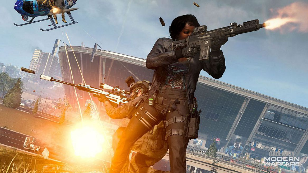 Call of Duty: Warzone stadio