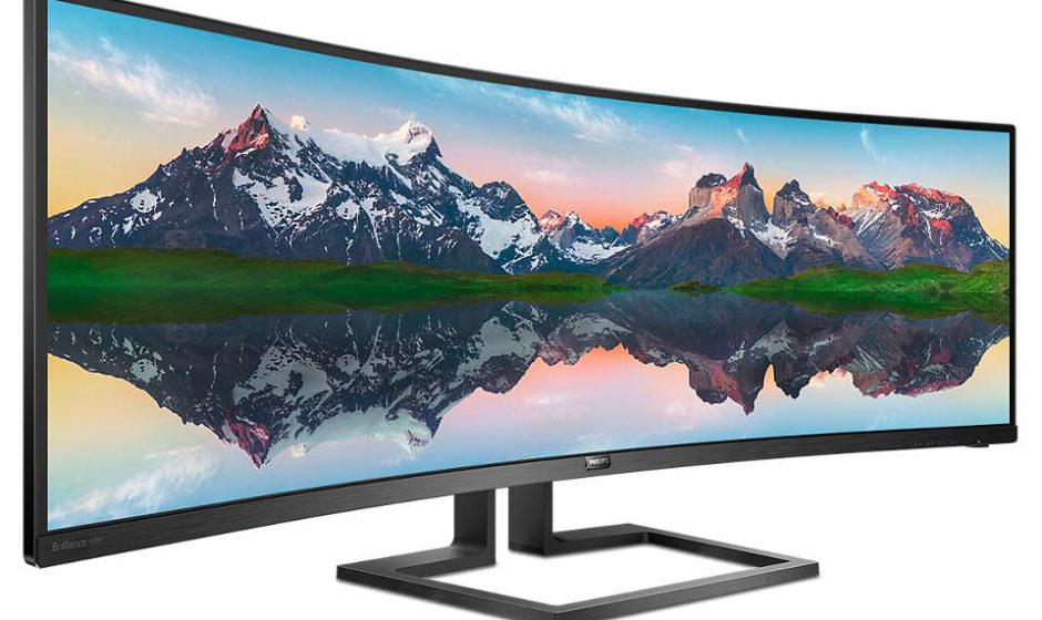 Philips presenta monitor SuperWide da 49 pollici