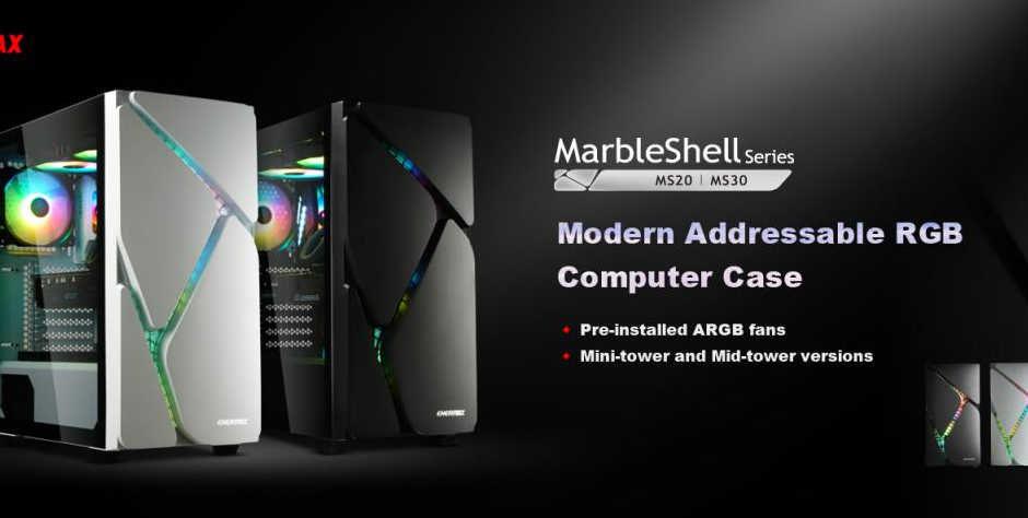 ENERMAX lancia la serie di case MarbleShell