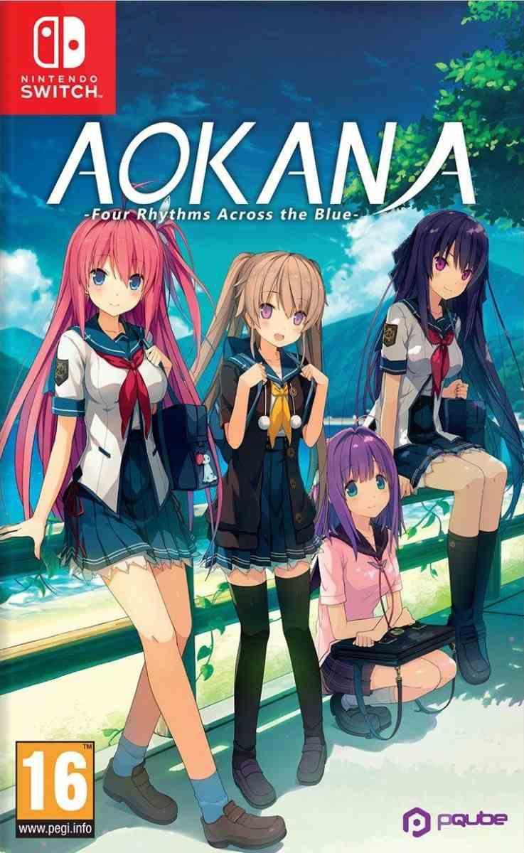 Cover Aokana: Four Rhythms Across the Blue