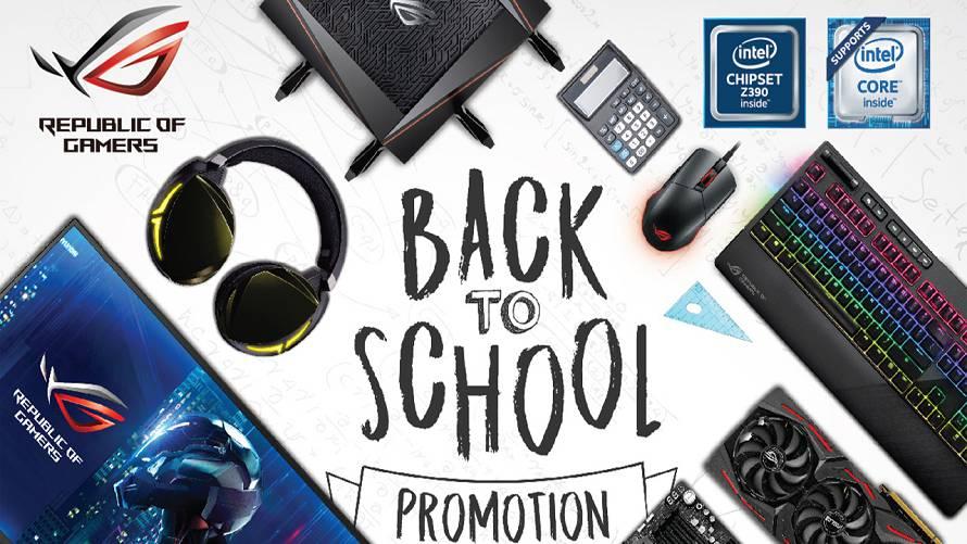 ASUS propone vari prodotti per il back to school