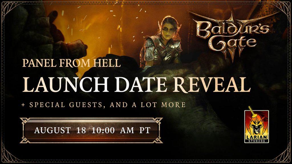 Baldur's Gate 3 data di lancio