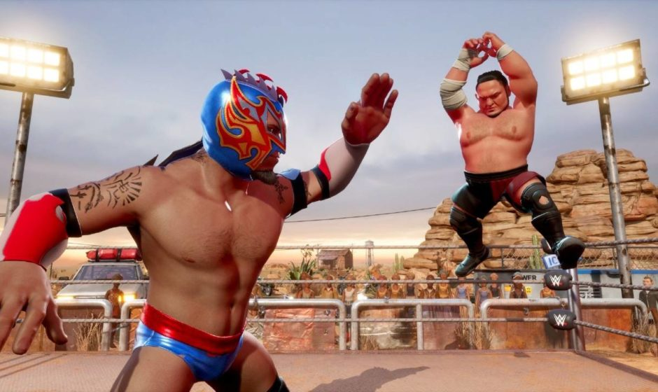 WWE 2K Battlegrounds, nuovo aggiornamento gratuito