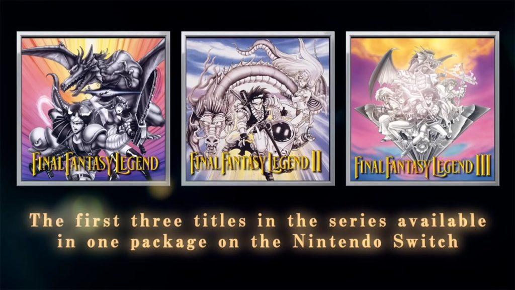 Collection of SaGa Final Fantasy Legend nuovo trailer