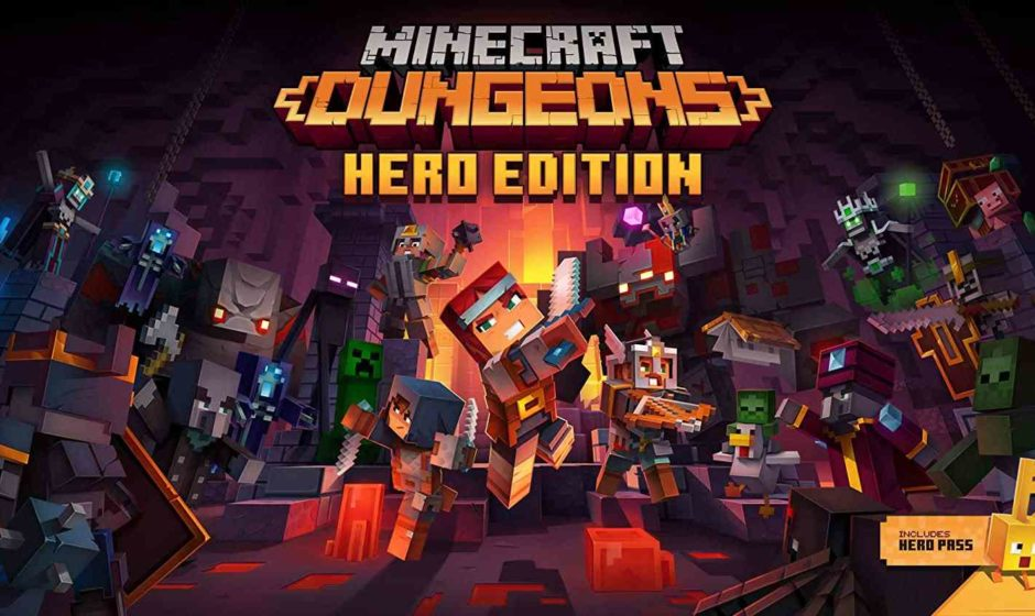 Minecraft Dungeons disponibile Flames of the Nether