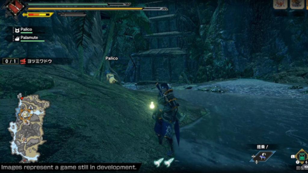 monster hunter rise gameplay