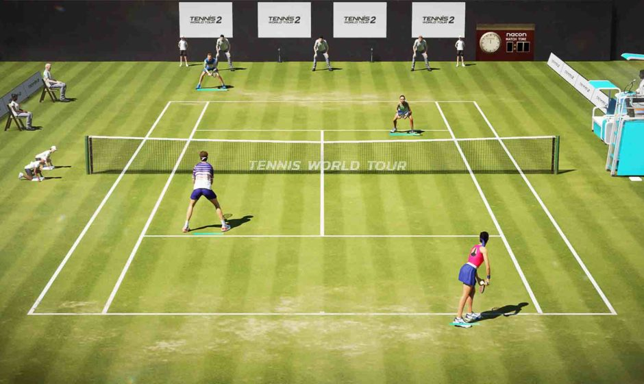 Tennis World Tour 2: trailer di lancio
