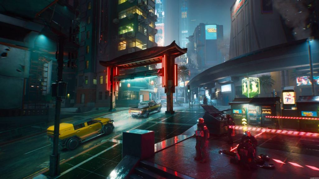 "Cyberpunk ""2077 Keanu Reeves canon"