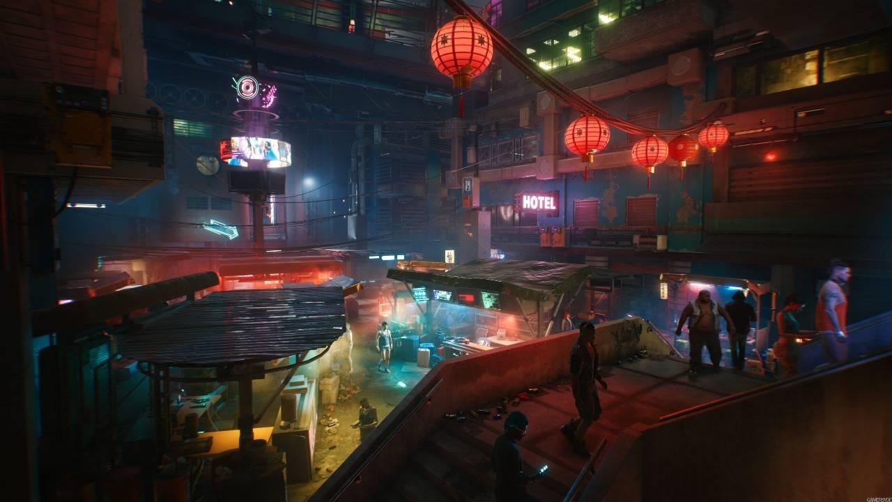 Cyberpunk 2077 Keanu Reeves protagonista