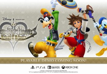 Kingdom Hearts: Melody of Memory, demo a ottobre