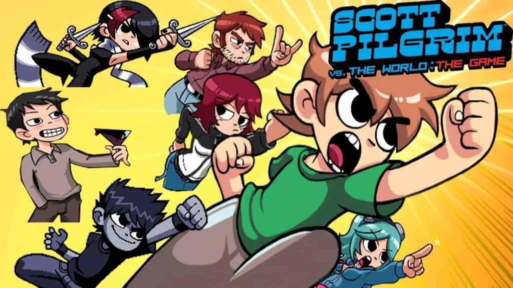 scott pilgrim vs the world the game