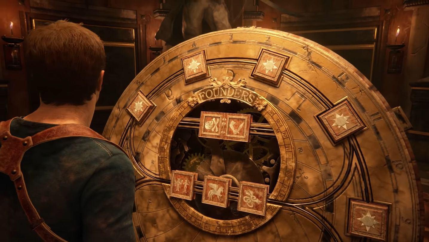 uncharted 4 puzzle quadri