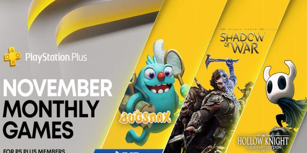 PlayStation plus novembre