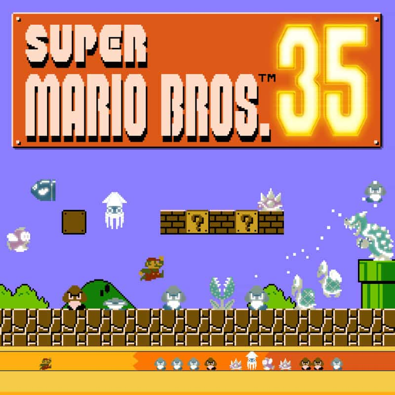 Cover Super Mario Bros. 35