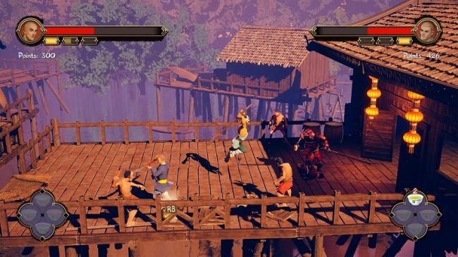 Monkeys of Shaolin gameplay trailer