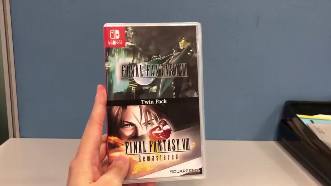 final fantasy VII final fantasy VIII remastered