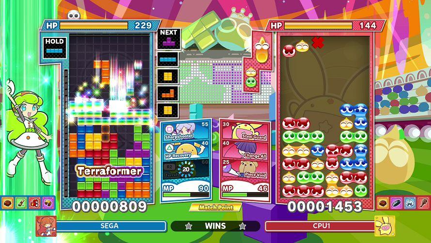 Puyo Puyo Tetris 2 Trofei