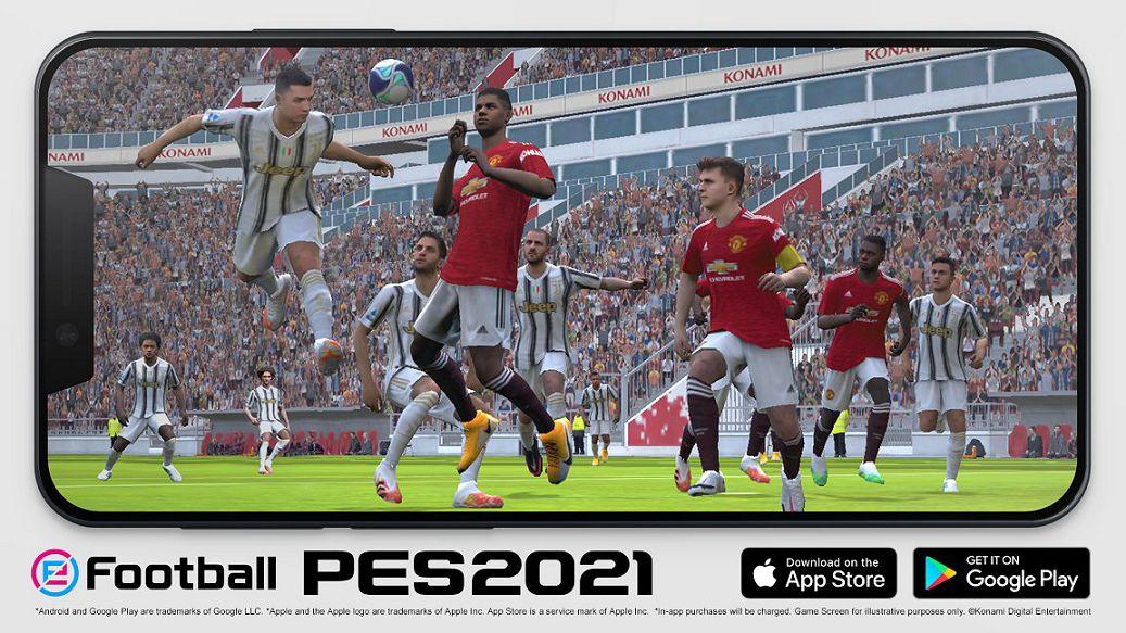 PES 2021 versione Mobile