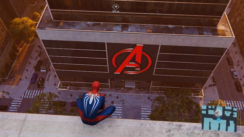 Marvel's Spider-Man Torre degli Avenger