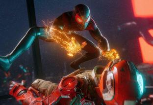 Spider-Man: Miles Morales riproduce uno spezzone di Into the Spider-Verse