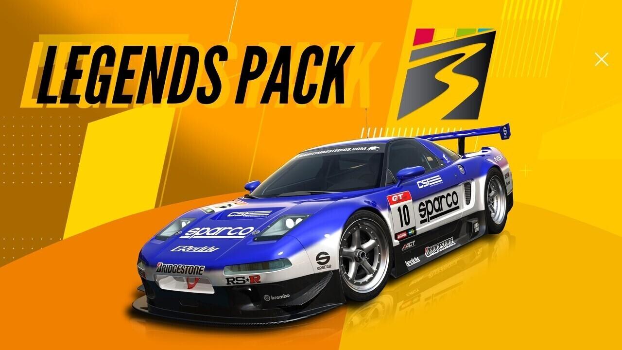 Project CARS 3 Legends Pack