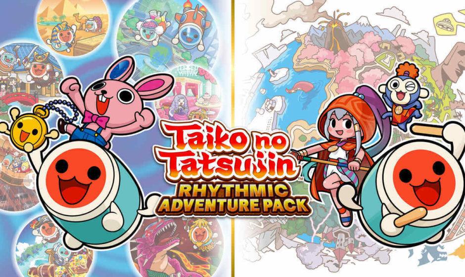 Taiko No Tatsujin Rhythmic Adventure Pack arriva su Switch