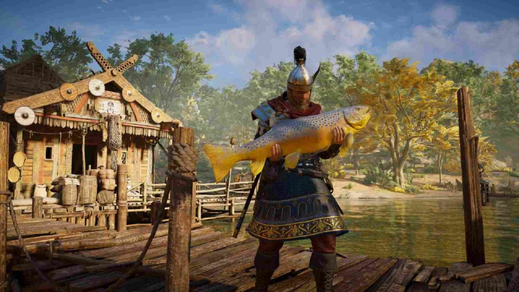 Assassin's Creed Valhalla pesca