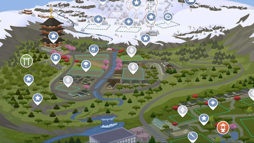 The Sims 4: Oasi Innevata