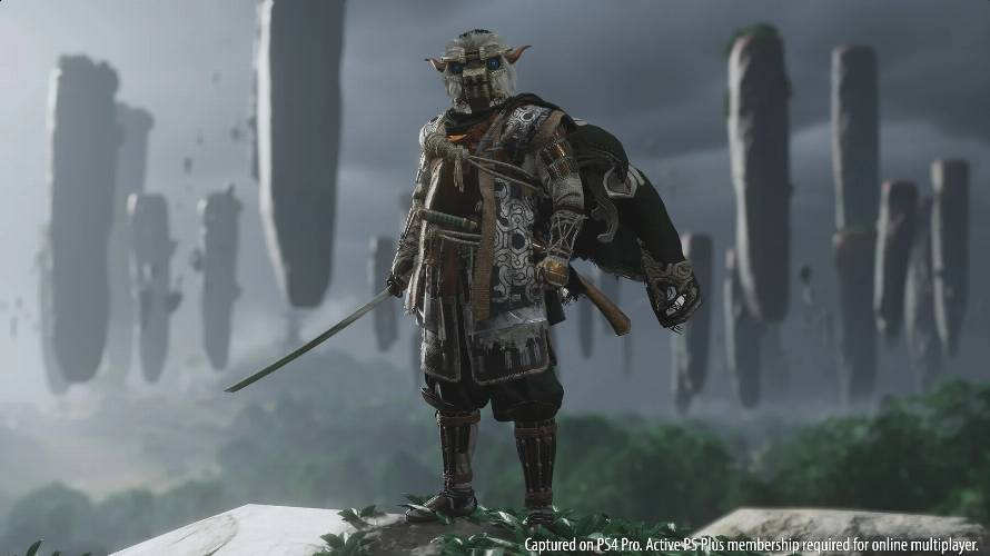 Ghost of Tsushima Legends skin