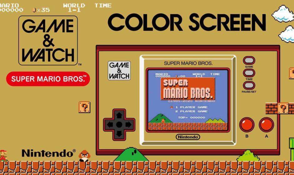 Game & Watch: Super Mario Bros.- Recensione
