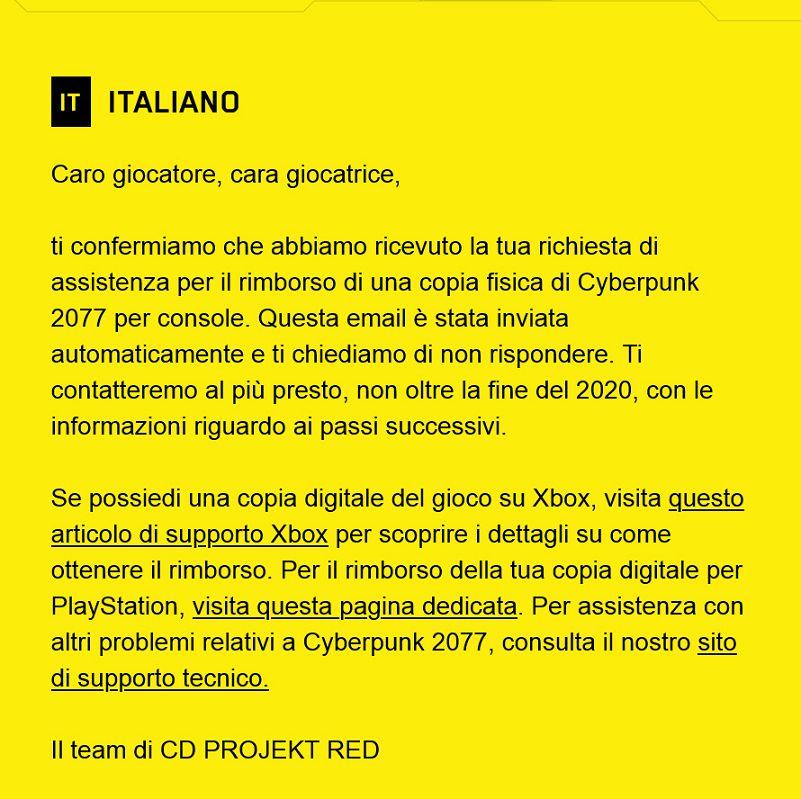 Cyberpunk 2077 Gamestop copie fisiche