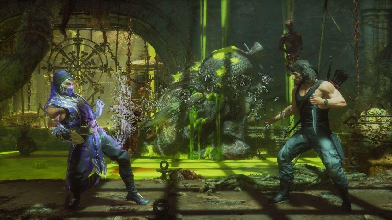Mortal Kombat 11 Ultimate Rain