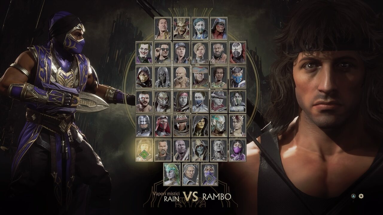 Mortal Kombat 11 Ultimate roster