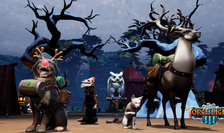 Torchlight III: disponibile l'update invernale