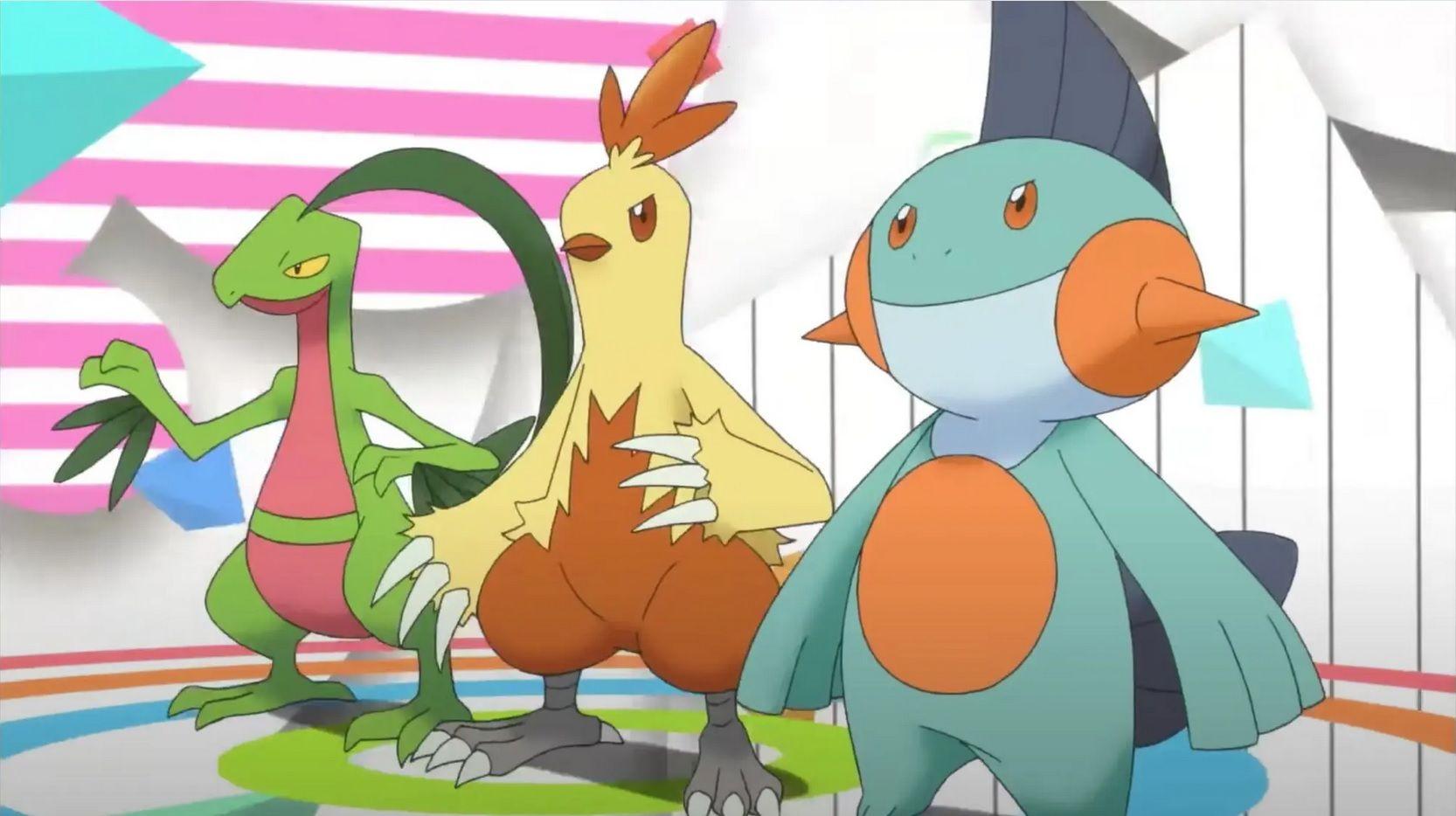 pokemon starter hoenn