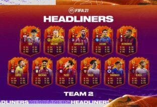 FIFA 21, annunciato il secondo team Headliners
