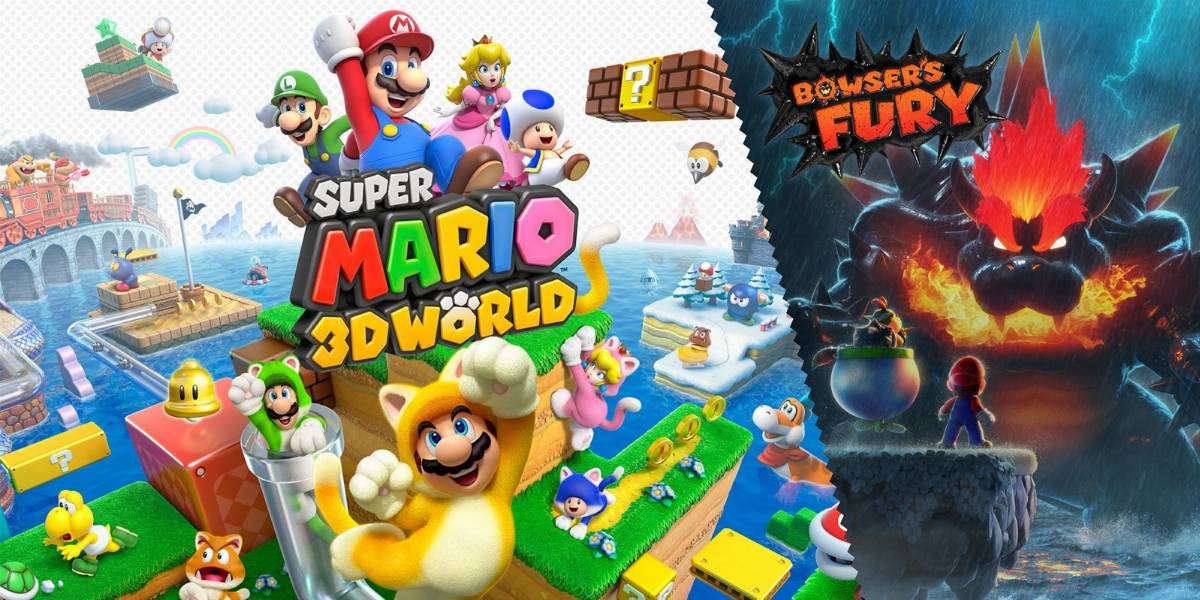 Mario 3d world + bowser's fury