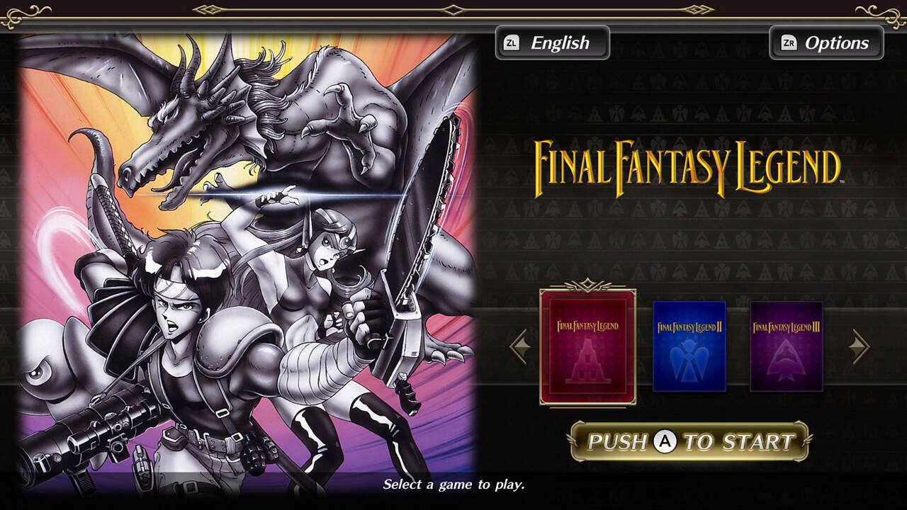 Collection of SaGa Final Fantasy Legend