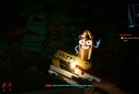 Cyberpunk 2077 - Skippy, la pistola parlante