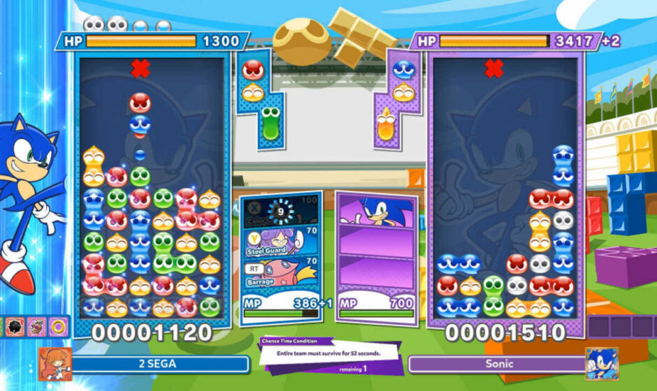 Nuovo update per Puyo Puyo Tetris 2