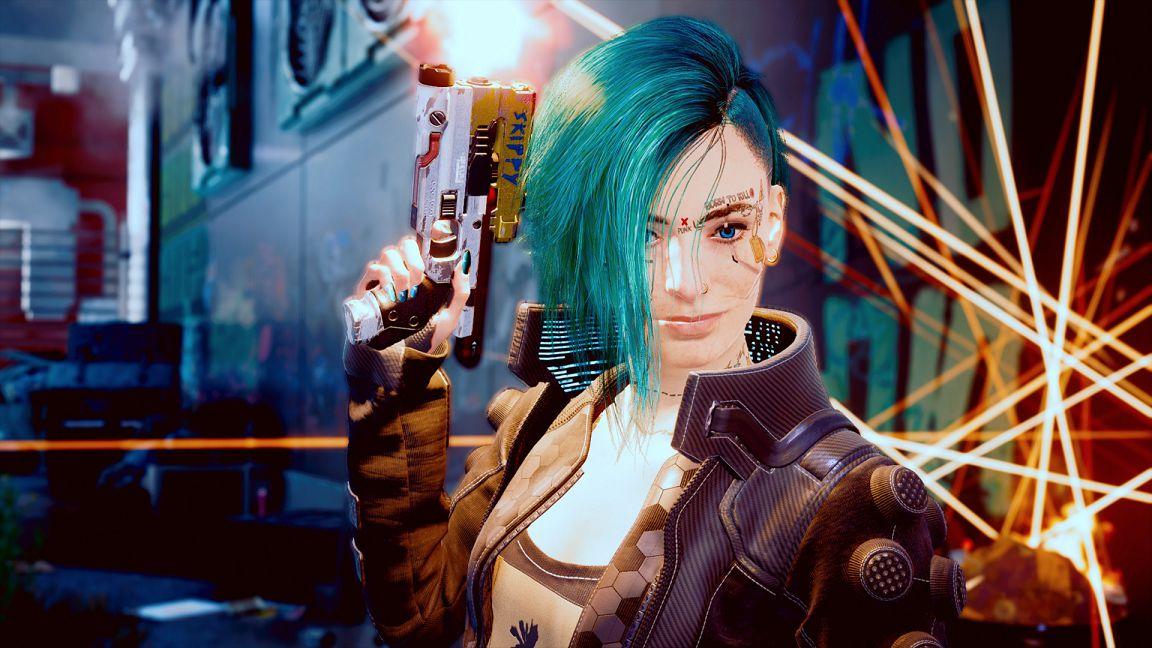 Cyberpunk 2077 Skippy pistola