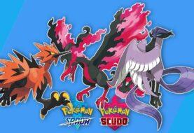 Pokémon Spada e Scudo - Articuno, Zapdos e Moltres
