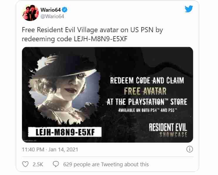 resident evil village avatar