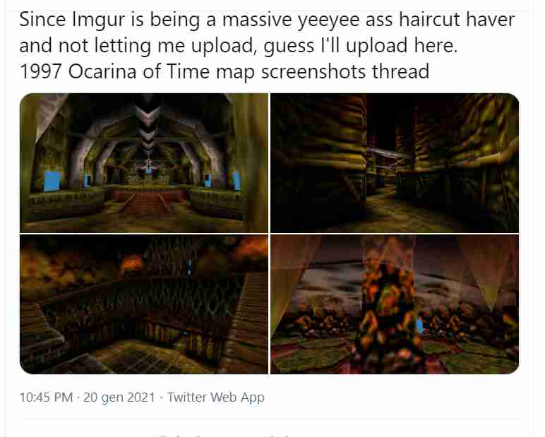 zelda ocarina of time feature