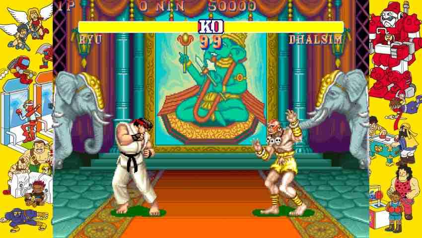 Capcom Arcade Stadium Street Fighter