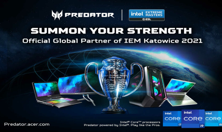 Predator partner degli Intel Extreme Masters