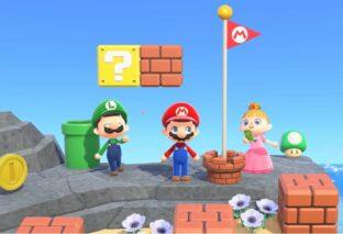 Animal Crossing New Horizons, arriva Super Mario