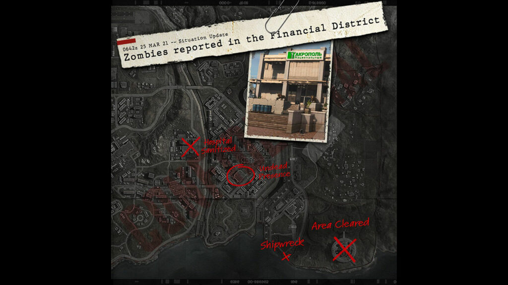 Warzone Zombi Downtown