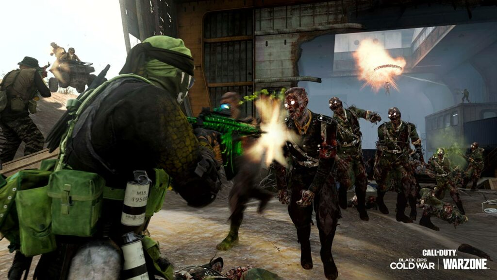 Call of Duty Warzone Evento Zombi a Downtown